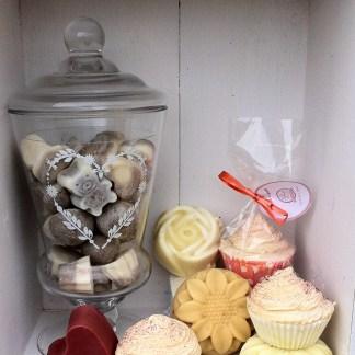Cupcakes et Pati'savons