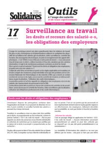 Fiche N 17 Surveillance Au Travail Les Droits Et Recours