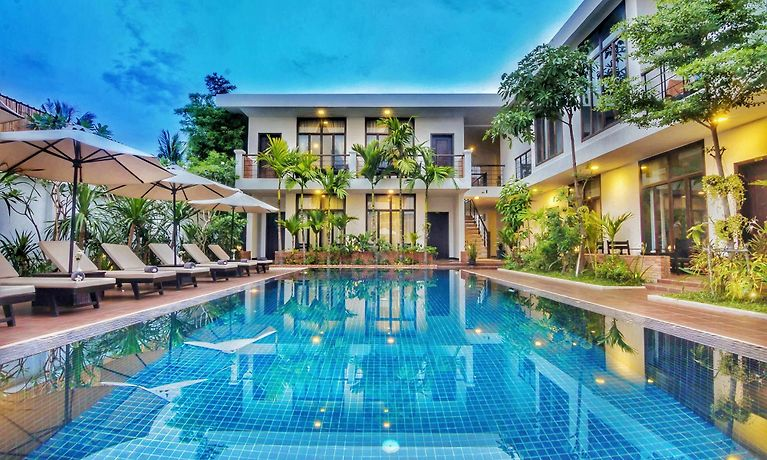La Rose Blanche Boutique Hotel Siem Reap