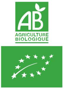 pesticides dans l'assiette - logo AB