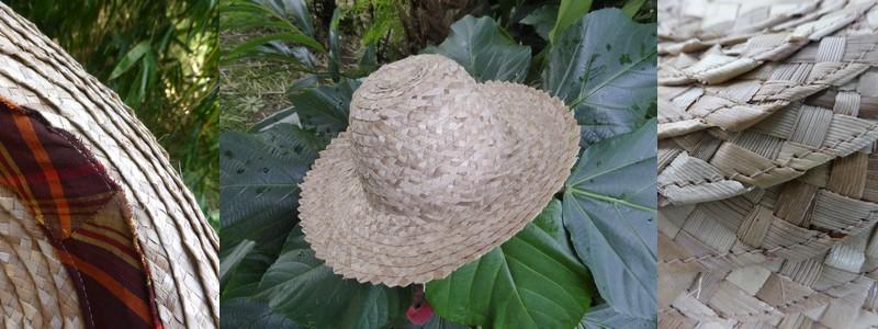 Chapeau bakoua, détails