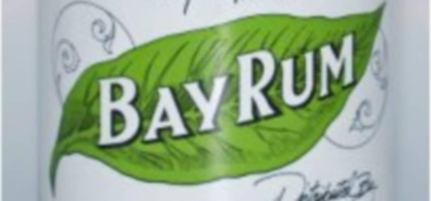 Bay rum: Besoin d'un après-rasage? (Bois d'Inde)