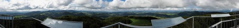 Vue depuis la tour du Wisenberg