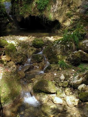 Une caverne au Tüfelsschlucht
