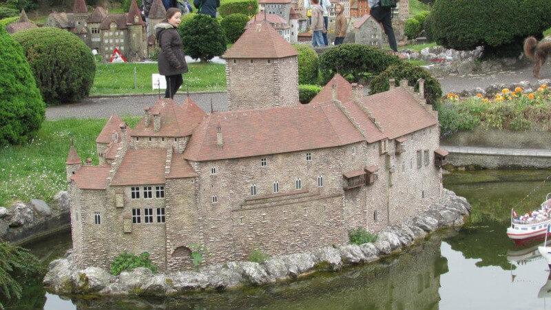 Le château de Chillon en miniature