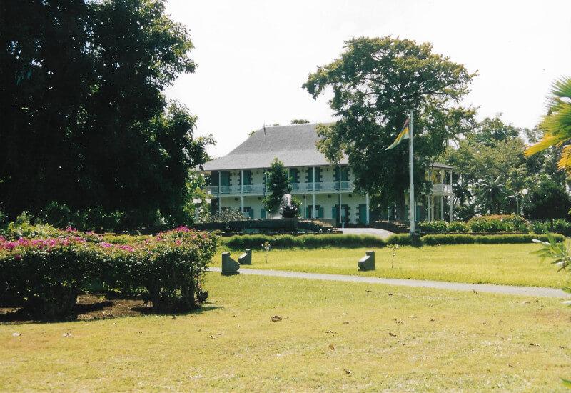 La maison de Pierre Poivre au jardin de Pamplemousses
