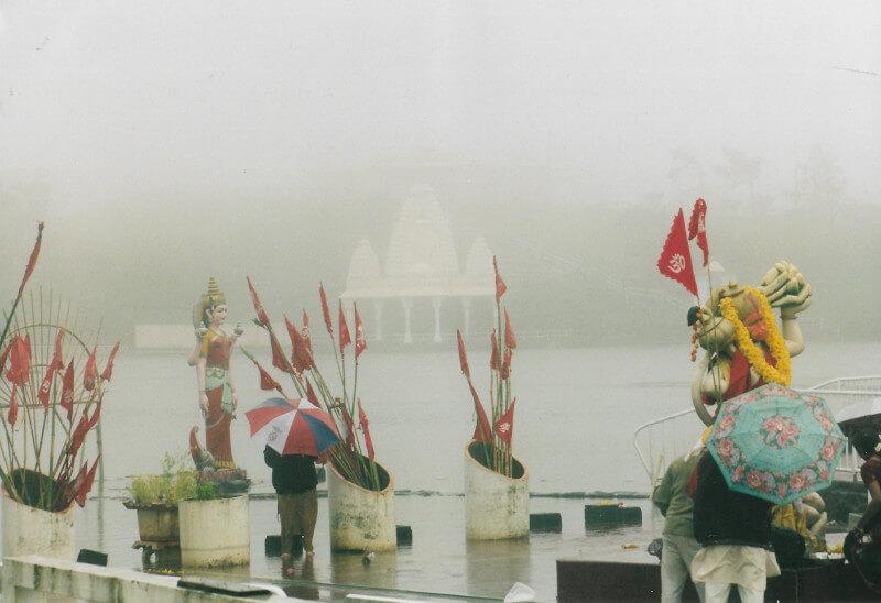 Le lac sacré à Grand Bassin