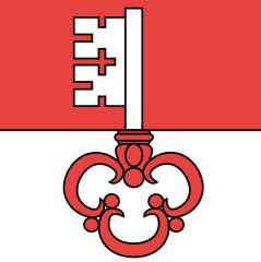 Le drapeau du canton d'Obwald