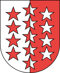 Le blason du canton du Valais