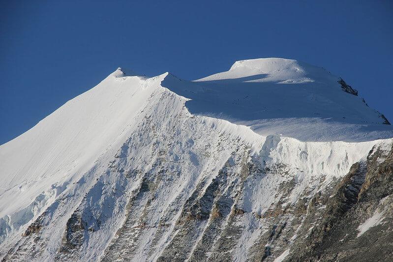 Le sommet du Bishorn