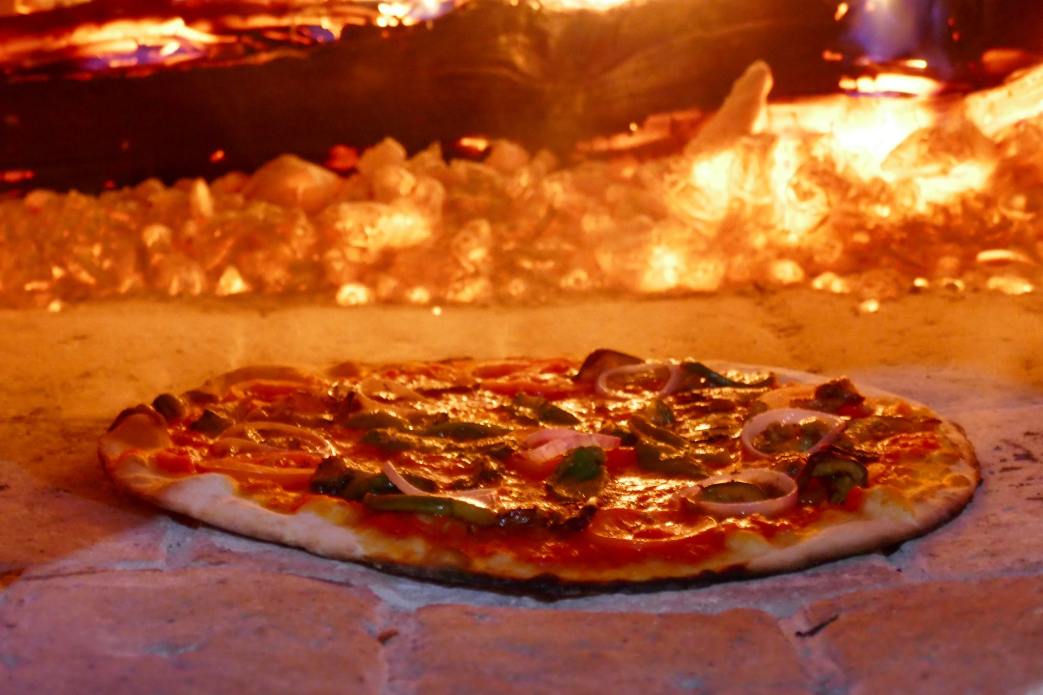 The Best Pizza in Bagan Natural ingredients and wood oven