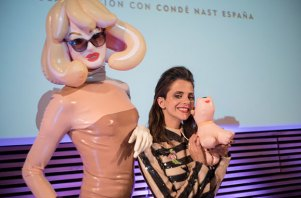 Macarena Gómez con Pademonia en Madrid Fashion Film Festival