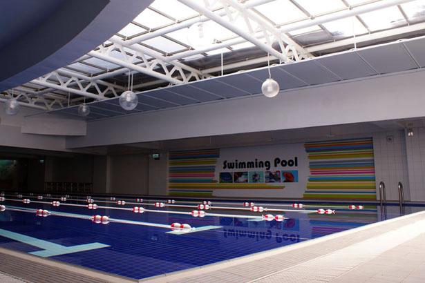 臭氧殺菌室內溫水游泳池-設施介紹-維達都會生活俱樂部-臺南瑜珈教室-VIVA La VIDA