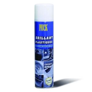 Le brillant plastique vanille longue durée nettoie, protège et fait briller les plastiques de voitures puis redonne du brillant au plastique.
