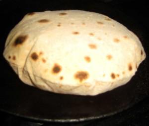 Le chapati est plus digeste que le pain