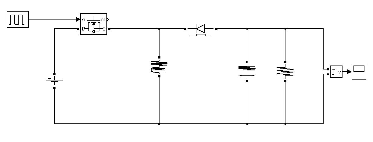 circuit diagram of buck boost converter remote control car file exchange matlab central image thumbnail
