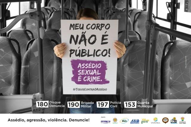 Evitar el acoso sexual en autobuses, nuevo foco de trabajo en Porto Alegre