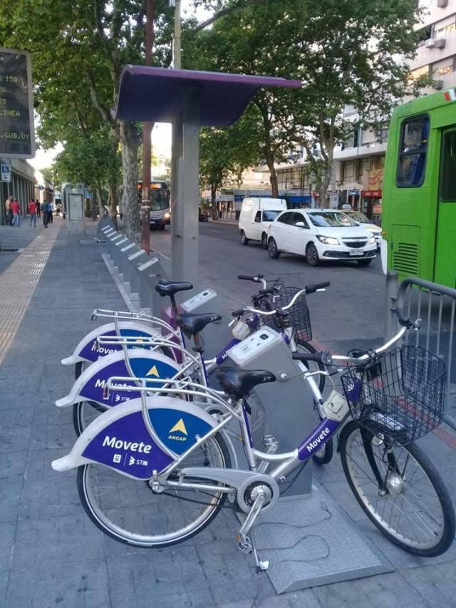 Montevideo busca ampliar el sistema de bicicletas públicas