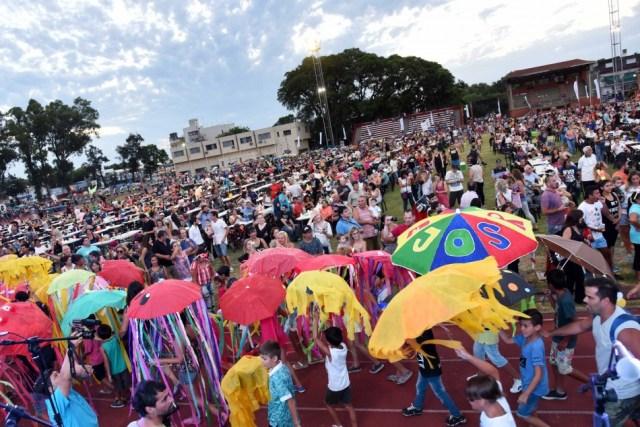 Colonias de Rosario festejaron el verano y la inclusión