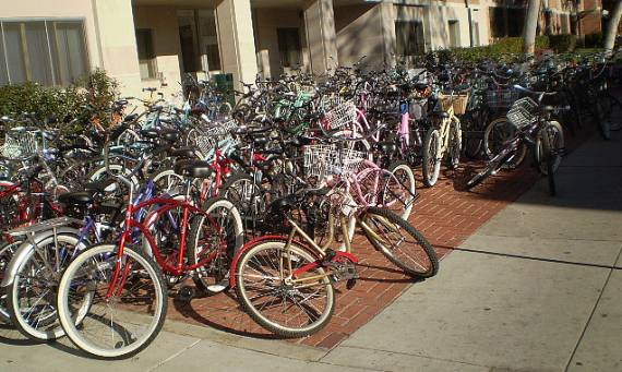 Note to USC: The answer to this problem isn't having less bikes.