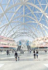 Rendering of Anaheim's Artic Station
