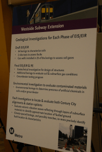 Metro tried to make the case that tunneling undergroud is safe and will not effect air quality.