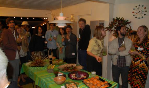 A crowd shot from our October house party...who knows who will be partying in Brentwood on 12/18?
