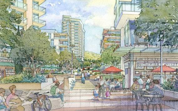 "NBC Evolution will be a ""mixed use transit oriented development."""
