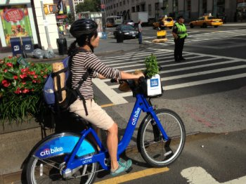 What does bike share have to do with walkability?