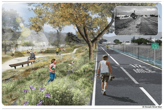 These planned bike and walk paths are among xxx projects that Metro was going to fund, but not any more.