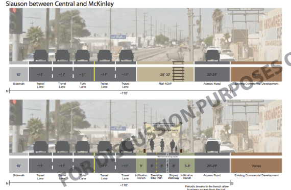 A screenshot of how the right-of-way might be transformed. Source: