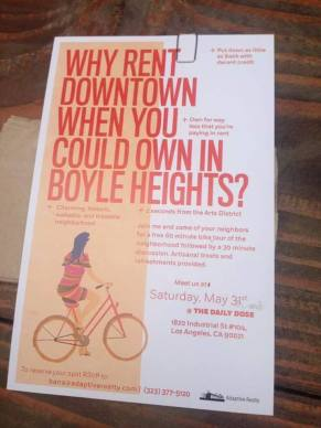 Behold: the most tone-deaf flyer in the history of man. (Photo seen on several facebook pages).