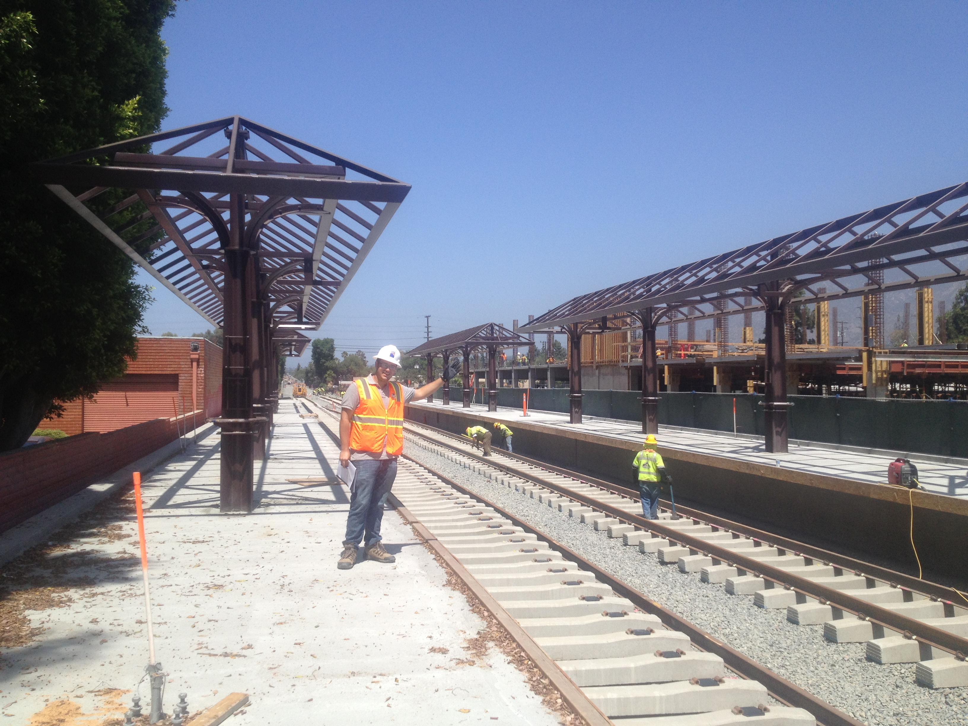 a photo essay of a tour of the gold line foothill extension   2309