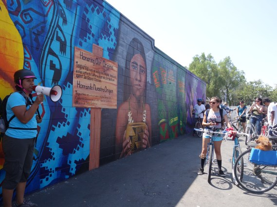 "A member of the HOODSisters collectives shares the inspiration behind the ""Honoring Our Origins"" mural"