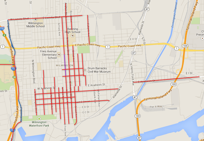 wilmington's new bike lane network, and what it does and