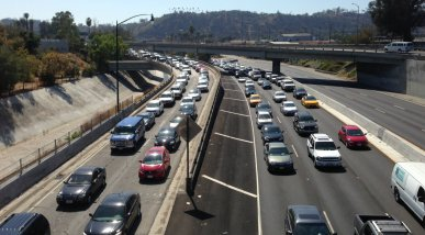 Should L.A.'s future look more like the 110 Freeway...
