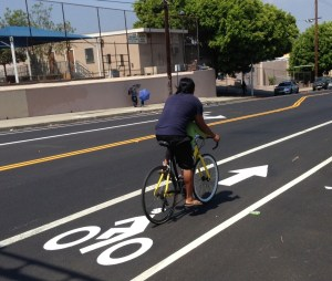 Recent census data shows that commuting by bicycle has increased in L.A. Photo: Joe Linton/Streetsblog L.A.