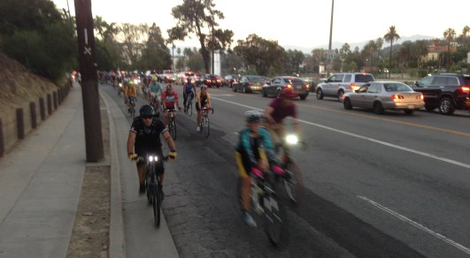 Milton Olin Ride passes Echo Park. All photos: Joe Linton/Streetsblog L.A.