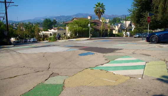 Undisclosed Silver Lake intersection. Photo by Sahra Sulaiman/Streetsblog L.A.