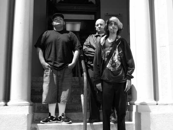 Partida with founding members Nico and Christian in early 2012. Sahra Sulaiman/Streetsblog L.A.
