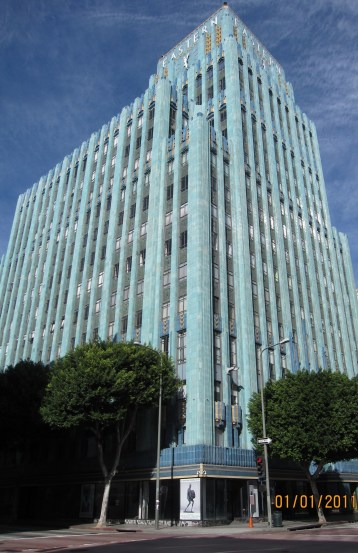 One of the historic downtown L.A. office buildings converted to housing under the Adaptive Reuse Ordinance. Photo by Do Shoup