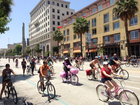 Yesterday was Pasadena's first CicLAvia. How did it go for you? Photos: Joe Linton/Streetsblog L.A.