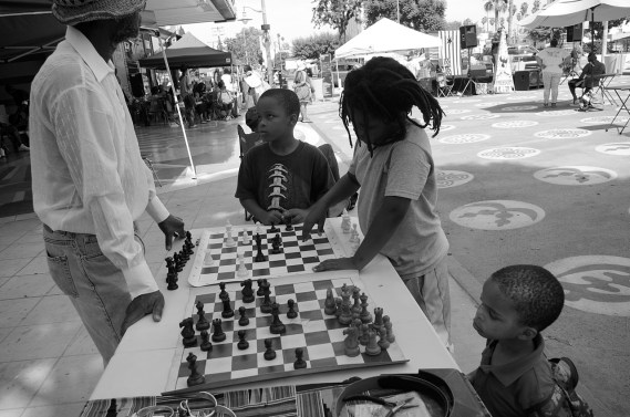 So has chess. Sahra Sulaiman/Streetsblog L.A.