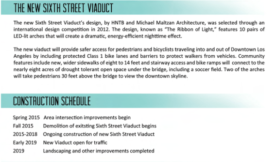 It's in writing, so it must be true -- we're getting a protected bike lane. Source: 6th St. Viaduct Replacement project
