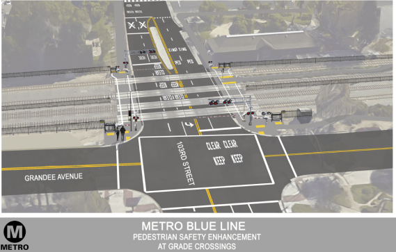 Rendering of the 103rd St. station upgrades. Source: Metro