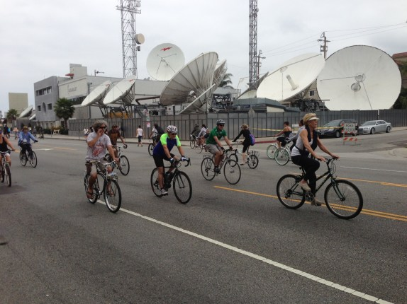 CicLAvia converts Culver City, convinces Venice. All photos: Joe Linton/Streetsblog L.A.