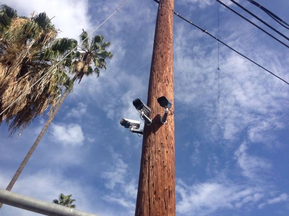 Department of DIY surveilance cameras in Silver Lake