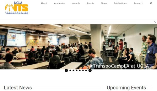 UCLA Institute for Transportation Studies hosted Transportation Camp last October