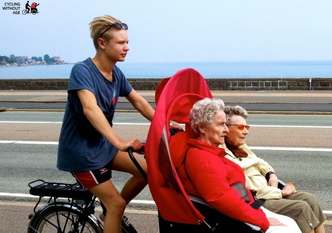 Cycling Without Age - image from the organization's website