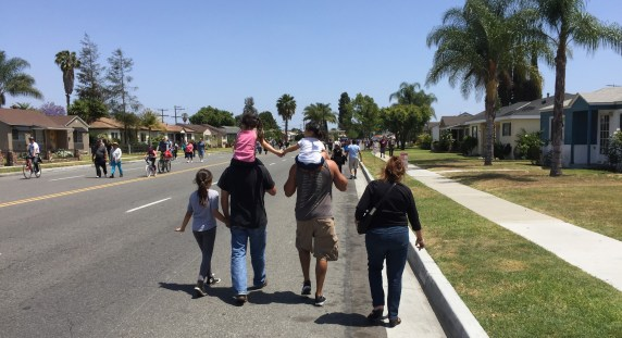 Downey Ride & Stride open streets festival took place yesterday. All photos Joe Linton/Streetsblog L.A.